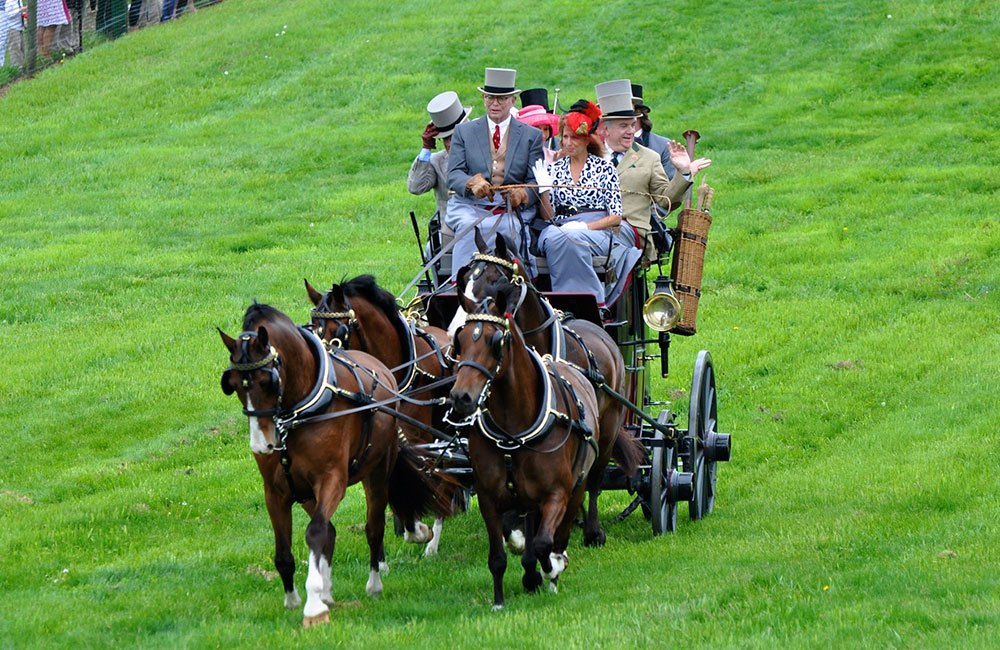 Carriage Parade at Winterthur Point-to-Point