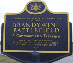 Brandywine Conservancy Presents Brandywine Battlefield Driving Tour