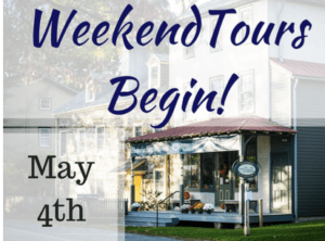 Historic Sugartown Presents Sugartown Weekend Tours 2019