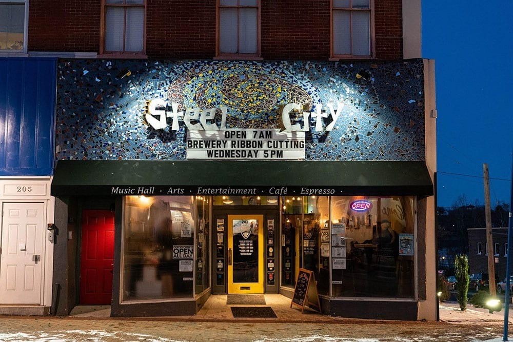 Steel City Coffeehouse & Brewery