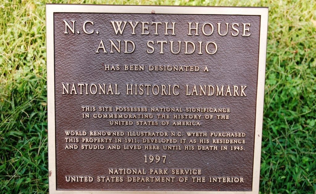 N.C. Wyeth House & Studio Tour