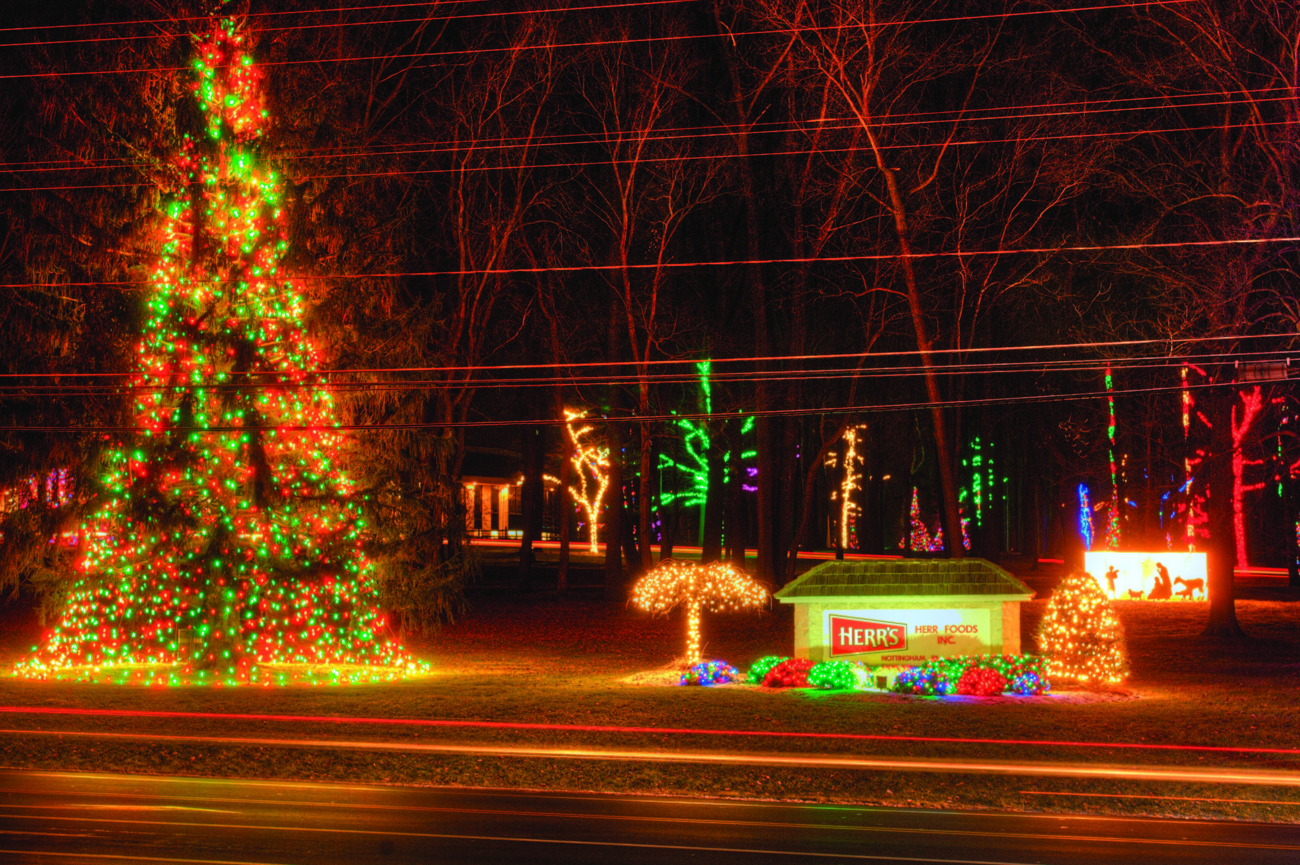 2020 Christmas Light Display Herr's Annual Christmas Lights Display 2020   Chester County