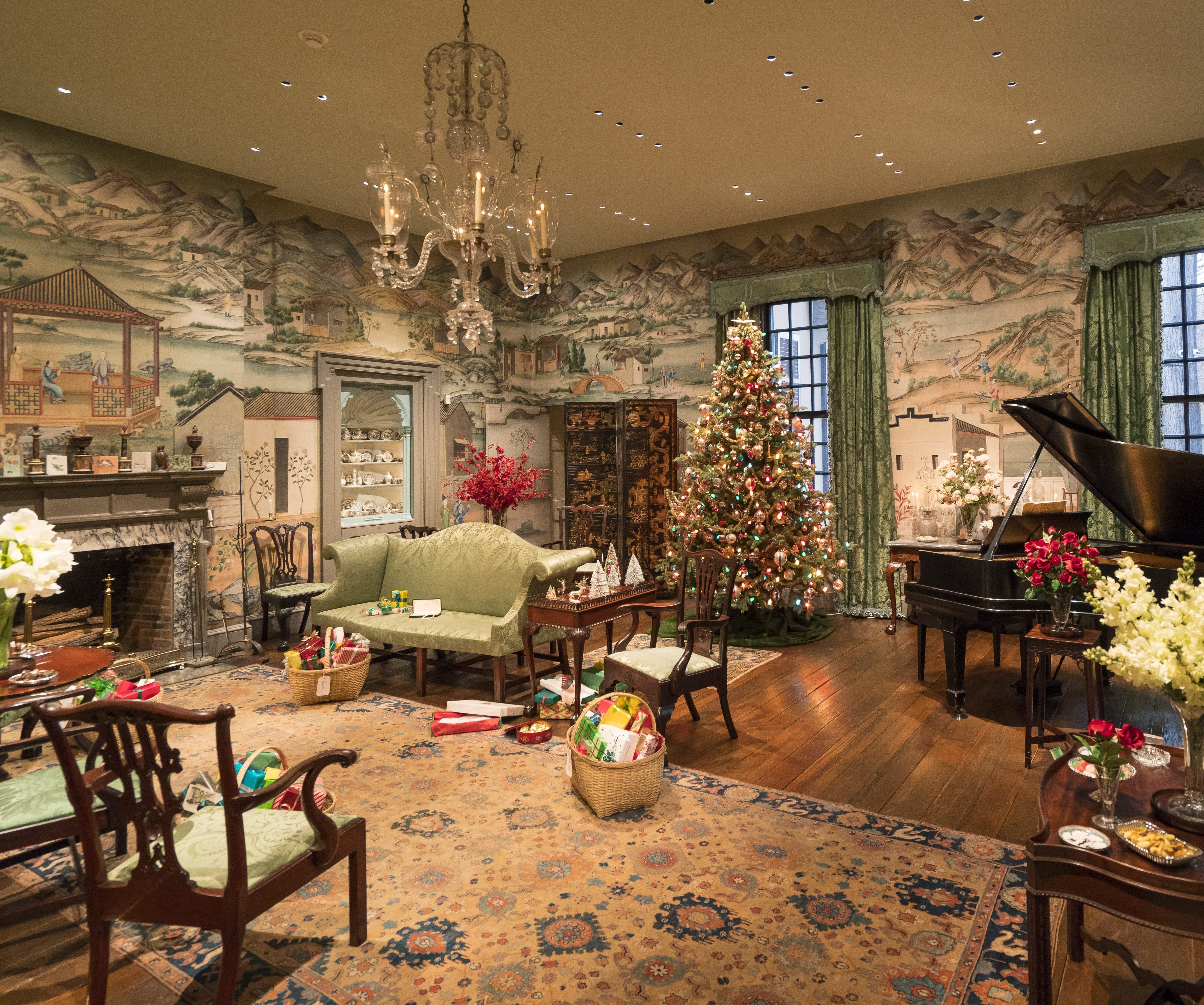 Yuletide At Winterthur Chester County