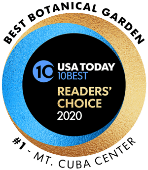 Mt. Cuba Center - Best Botanical Garden, USA Today 10Best Reader's Choice 2020